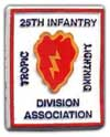 25th Infantry Division Association magnet