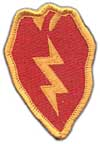 25th Infantry Division  shoulder patch