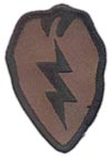 25th Infantry Division  camouflage patch