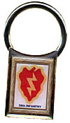 Tropic Lightning keychain