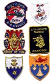 regimental patches